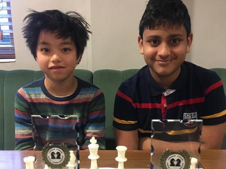 London Junior Chess Champions from Barnes