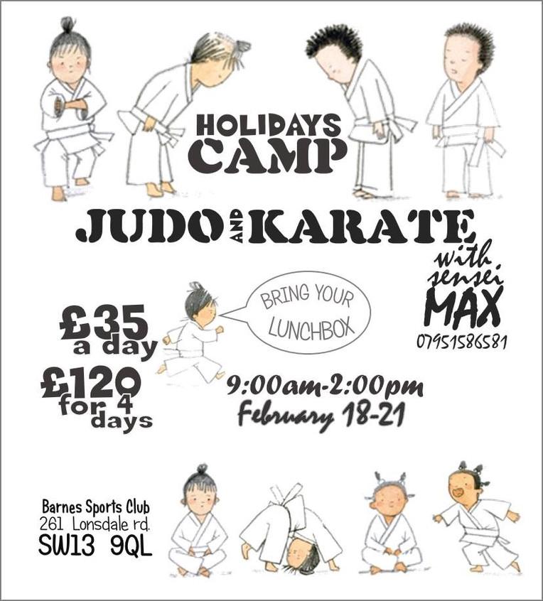 Karate Camp Feb 2019