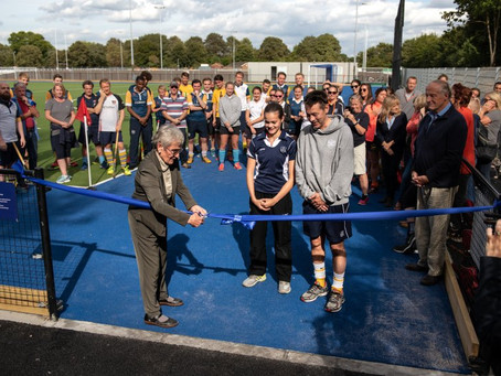 The Grand Opening of the New Hockey Pitch