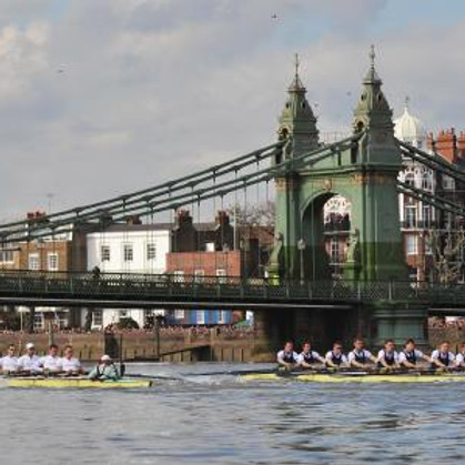 The Boat Race Action 2020