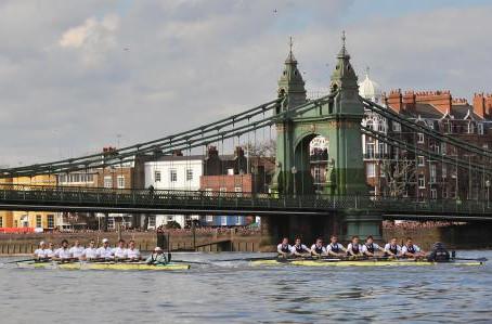 7 April - Boat Race Day