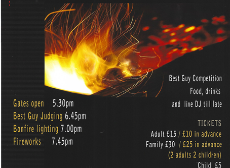 Bonfire Night Tickets on Sale