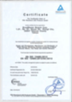 ISO 13485 Certification.