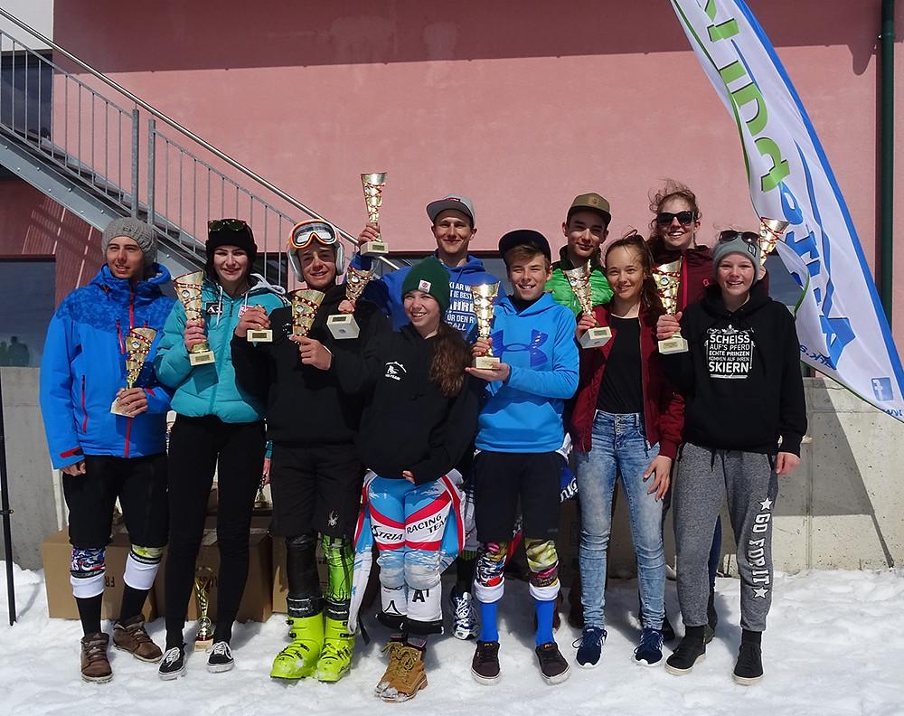 Klassensieger Gesamtwertung AUTOPARK Bezirkscup 2016/2017 Schüler/Jugend