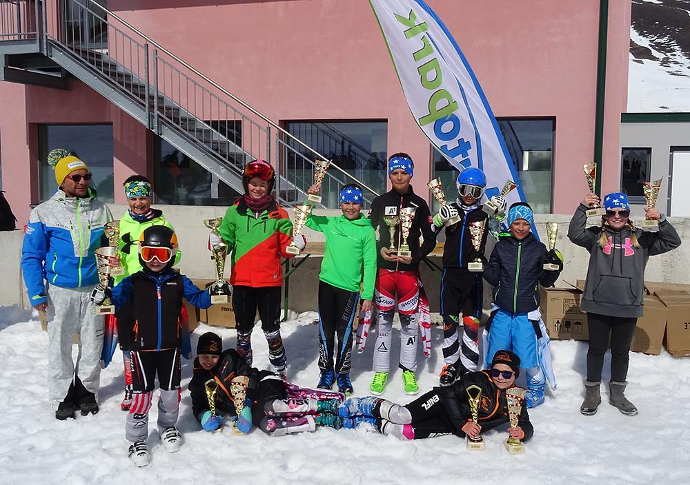 Klassensieger Gesamtwertung AUTOPARK Bezirkscup 2016/2017 Kinder