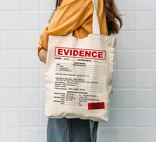 Evidence Tote Bag