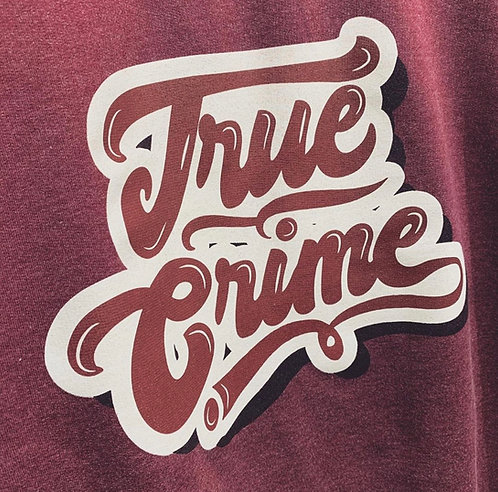 Retro True Crime Sweatshirt
