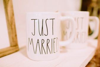 Rae Dunn Mugs - Just Married