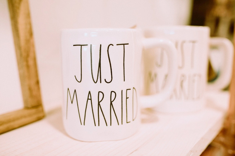 Rae Dunn Mugs - Just Married