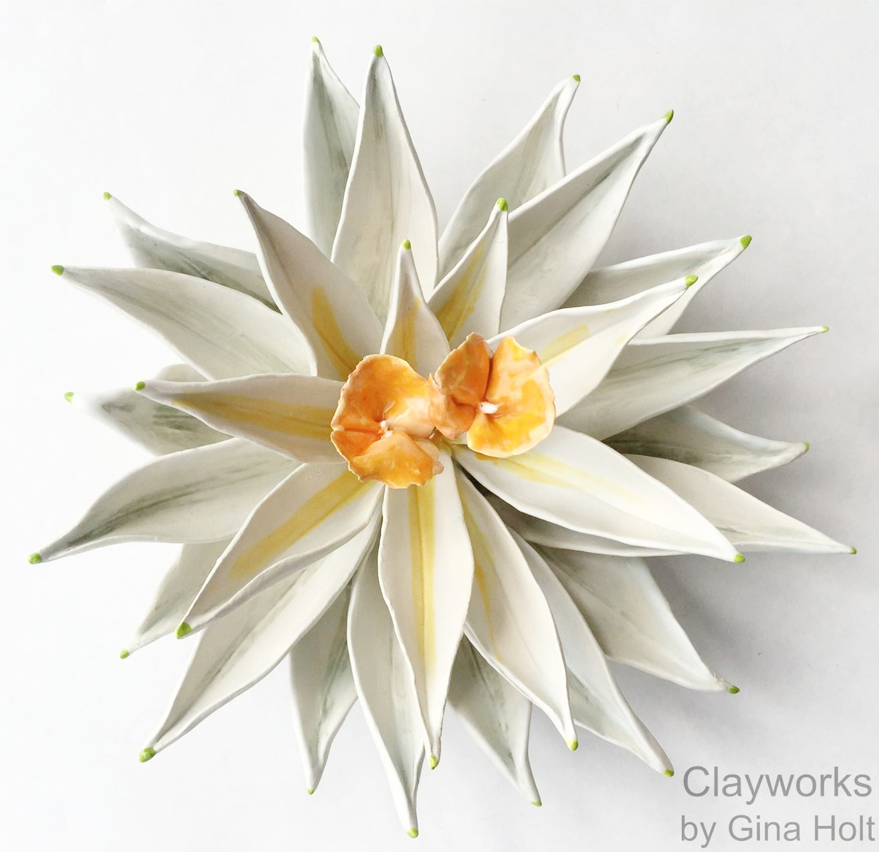 Gina Holt Clay Flowers_Seattle Stunning