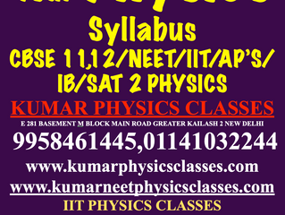 Early Start And Early Finish Your Physics Course-Physics Tutor In South Delhi