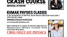 NEET PHYSICS CRASH COURSE