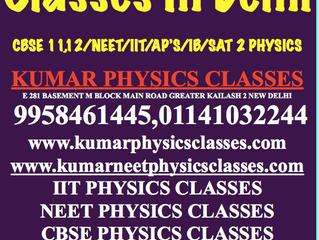 Physics Tutor In Delhi-Kumar Physics Classes