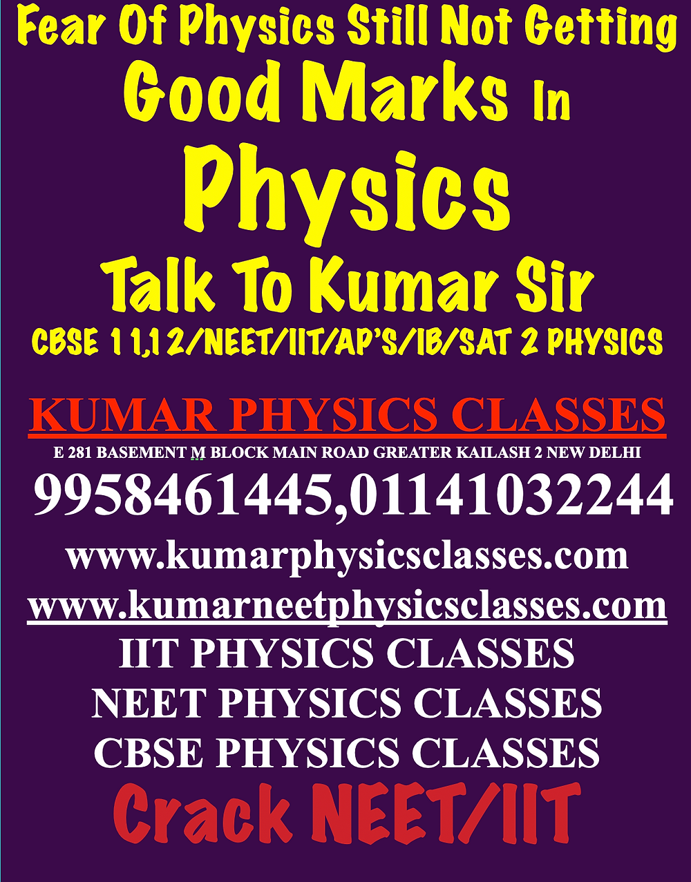 Physics Tutor In Delhi