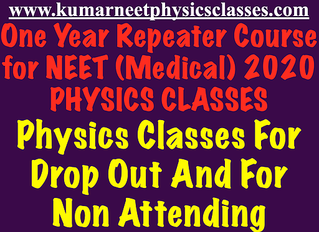 Physics online classes for Neet