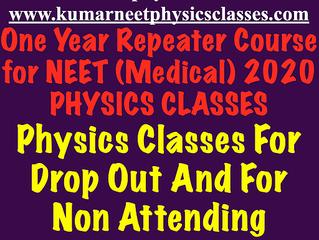 Physics online classes for Neet