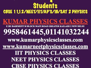 Physics Classes Fot IIT,NEET Drop Out Students