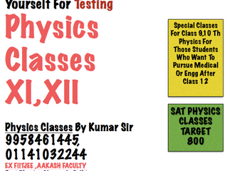 Physics Tutor Delhi