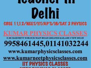 Best Physics Tutor In South Delhi