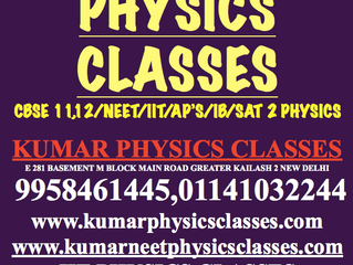 How To Study Physics -Physics Tutor In South Delhi