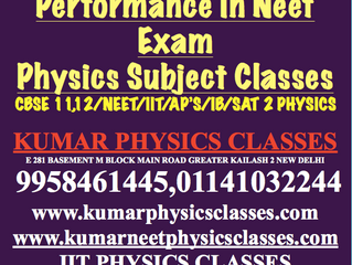 How One Can Cope Up With Physics After Poor Performance In Neet Exam