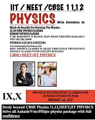 Physics Tutor In Kalkaji