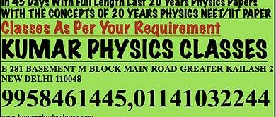 Physics Tutor In South Delhi