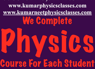 We Complete Physics Course For Each Student Thrice In One Year