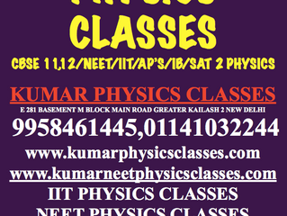 Physics Classes In Delhi For Non Attending,Drop out Or Dummy School Students