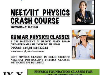 BEST PHYSICS CLASSES IN DELHI