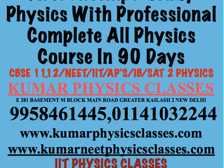 Crack Physics NEET AND IIT In Class 12 Only-Physics Tutor In Delhi
