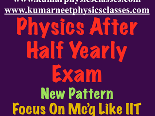 Make a effort to clear physics concepts