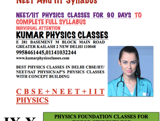 Physics Classes For 60 Days To Cover Full Class 11,12 Physics Course With Full Coverage Of NEET And