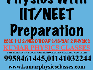 Do Cbse Physics With The Preparation Of IIT,NEET-Best Physics Classes In Delhi