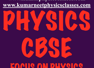 FOCUS ON PHYSICS CONCEPTS TO CRACK PHYSICS EXAM