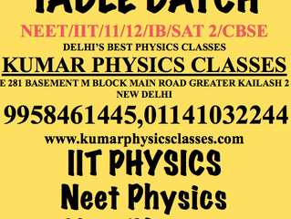 Physics Classes For Non Attending,Dummy School And Drop Out Students