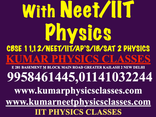 Cbse Physics Classes With NEET/IIT Physics