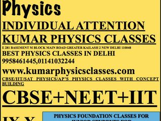 IIT MAINS 2018 Physics Paper Analysis BY Kumar Physics Classes In Delhi