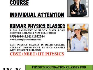 Physics Tutor In Kalkaji Main Road Delhi
