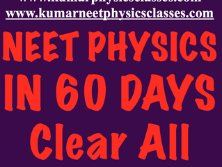 Accelerate Your Speed For Solving Physics Numericals By Clearing Your Physics Concepts
