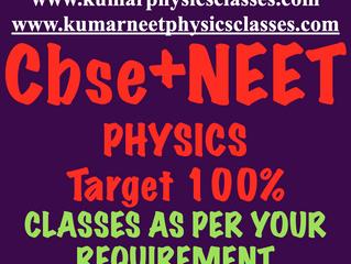 Main Focus On Physics Doubts-Cbse Plus Neet Tutor