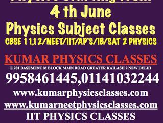 Physics Dropper Batch For Neet,IIT Physics Starting From 4 th June-Kumar Physics Classes