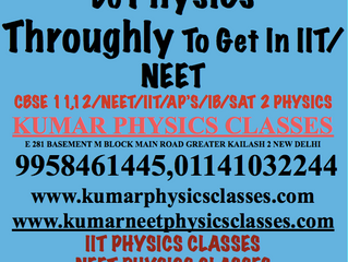 Now Crack IIT TWICE A YEAR-Physics Tutor In South Delhi
