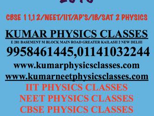 Neet Physics Exam Tips-Physics Tutor In Delhi