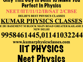 IIT Physics Tutor In Kalkaji