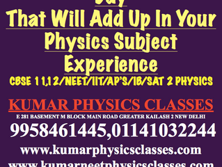 Do Atleast 50 Physics Numericals A Day-Best Physics Classes In Delhi