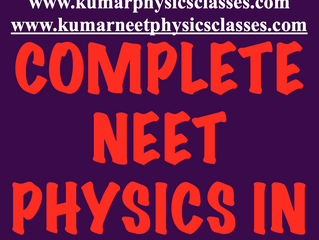 Complete Neet Physics Course In 60 Days