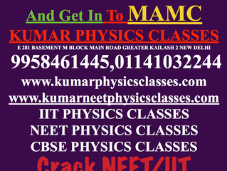 Crack Neet With Physics And Get In Mamc