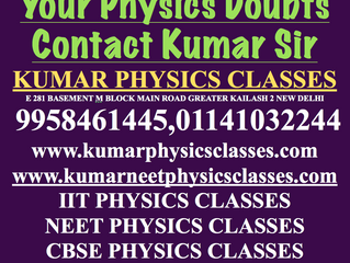 Clear Your Physics Doubts-Physics Tutor In Delhi