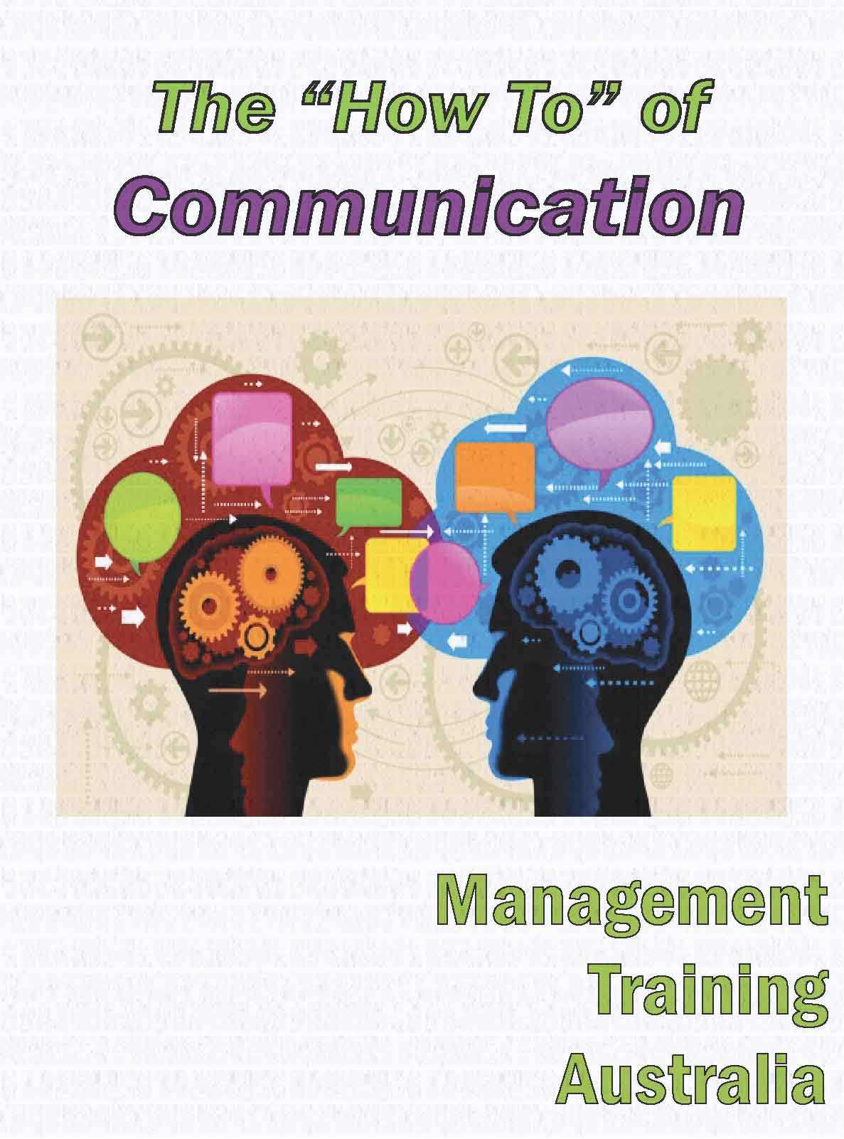 """""""How to """" of effective communication"""